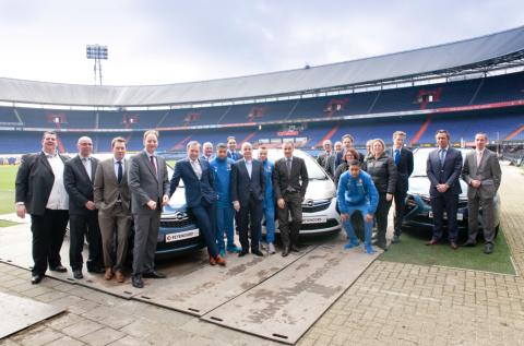 BIOS-Groep, Feyenoord, taxi, Opel