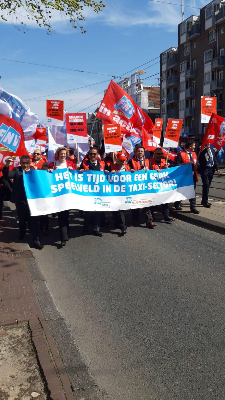 Protest. Foto: Mustafa Aznou